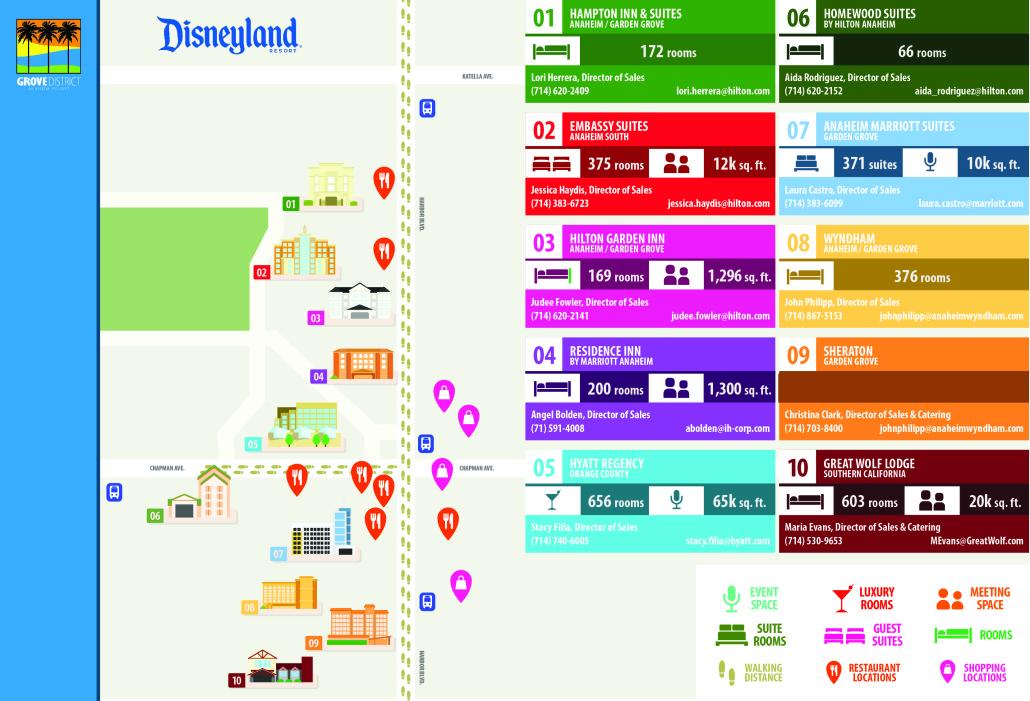 Grove District Anaheim Resort | Meetings & Events on crowne plaza anaheim, map of harbor blvd anaheim, weather anaheim,